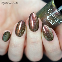 728 Solar Explosion, Holografisk Topcoat, Colour Alike